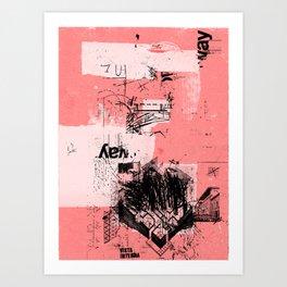 misprint 80 Art Print
