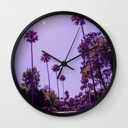 California Palm Trees Wall Clock