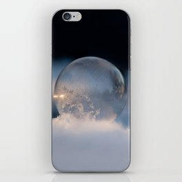 Blue Bubble Hill iPhone Skin