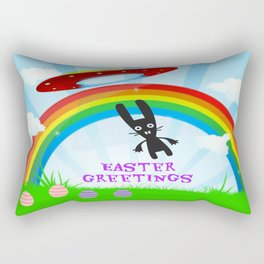 Easter Greetings Rectangular Pillow