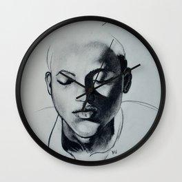 Shadow Girl Wall Clock