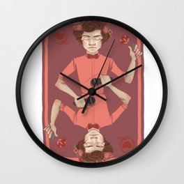 Harry of Hearts Wall Clock