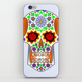 Day of the Dead skull iPhone Skin