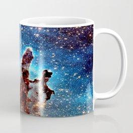The Pillars of Creation Blue Brown Coffee Mug