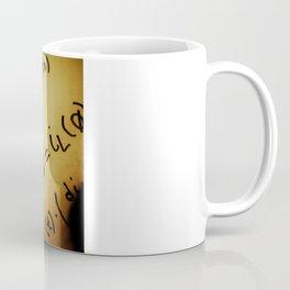 Reflecting on Final Exams Coffee Mug