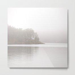 Foggy Landscape #decor #society6 #buyart Metal Print
