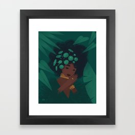 Pilea Framed Art Print