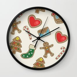 Christmas Now Wall Clock