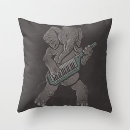 Trunk Rock Throw Pillow