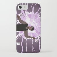 tesla iPhone & iPod Cases featuring Tesla by Todd A. Winter