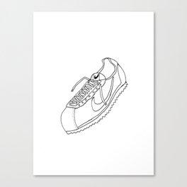 A Shoe Canvas Print