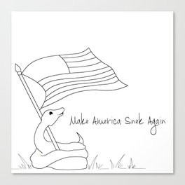 Make America Snek Again Canvas Print