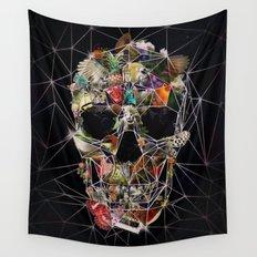 Fragile Skull Wall Tapestry