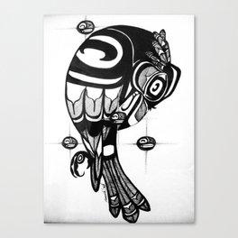 Raven Steals the Stars Canvas Print