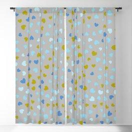 Hearts Pattern 67 Blackout Curtain