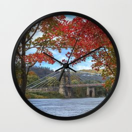 Perfectly Framed Wall Clock