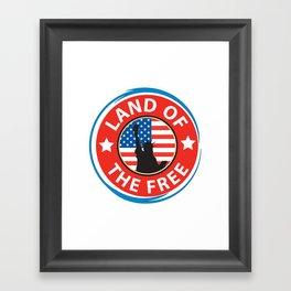 Land of the Free Framed Art Print