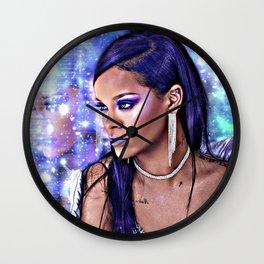 Bad Girl RiRi Wall Clock