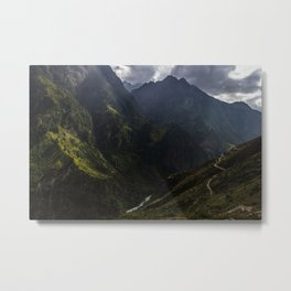 Karnali River Valley, Northern Nepal Metal Print