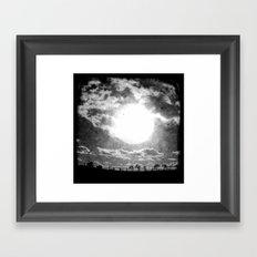 The Sun - Through The Viewfinder (TTV) Framed Art Print