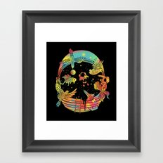 Depth of Discovery (A Case of Constant Curiosity) Framed Art Print