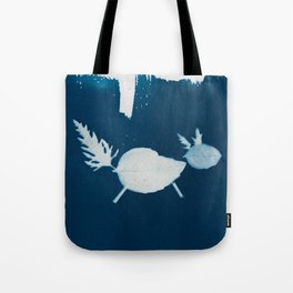 Cyano-fox Tote Bag