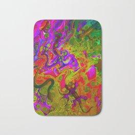Rainbow Snakes Bath Mat
