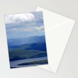 Rain Across The Valley Stationery Cards