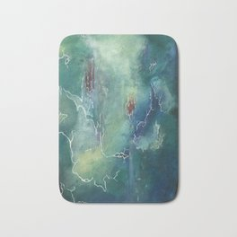 Green Horizons Bath Mat