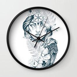 Fern lady Wall Clock
