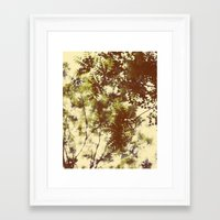 emerald Framed Art Prints featuring Emerald by Alicia Bock