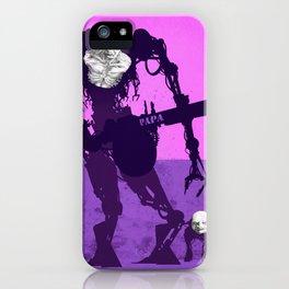 Papa Cyborg Baby Cyborg iPhone Case