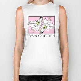 Show Your Teeth Biker Tank