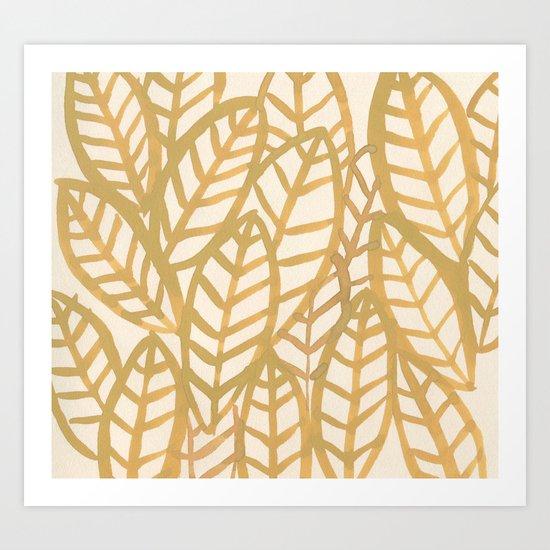 Fronds Art Print