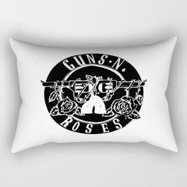 Guns Rose Logo Rectangular Pillow
