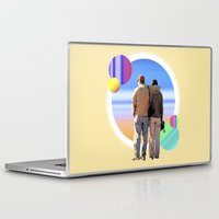 melissa smith Laptop & iPad Skins featuring Melissa & Ernie by MCDiBiase