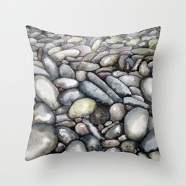 Pebble Beach Throw Pillow
