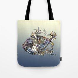Dragon Fish (Color) Tote Bag