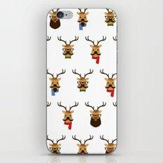 Hipster Reindeer iPhone & iPod Skin