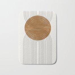 Abstract Flow Bath Mat