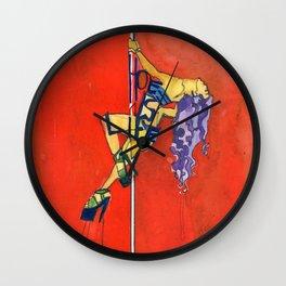 Hoe Is Life Wall Clock