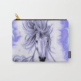 Blue Andalusian Flares Carry-All Pouch