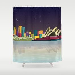 City Sydney Shower Curtain