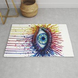 Colorful Eye Rug