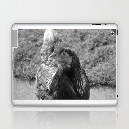 grayscale chicken (Ethel) Laptop & iPad Skin