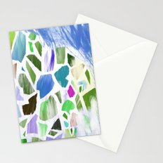 Blue Terrazzo Stationery Cards