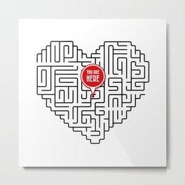 Finding Love II Metal Print