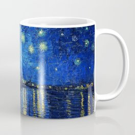 Starry Night Over the Rhone by Vincent van Gogh Coffee Mug
