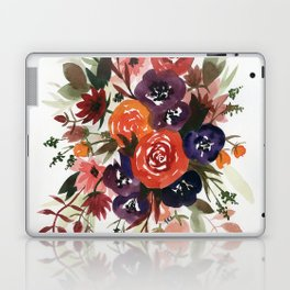 Country Fall Watercolor Bouquet Laptop & iPad Skin