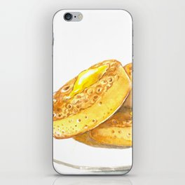Crumpets iPhone Skin